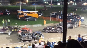 2014 Vt. State Fair Demolition Derby